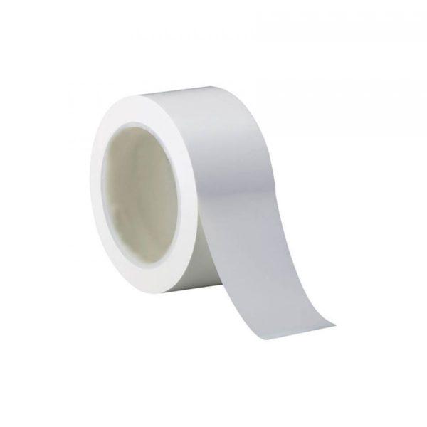 Лента ПВХ 50мм*18м, белая, не липкая, эластичная